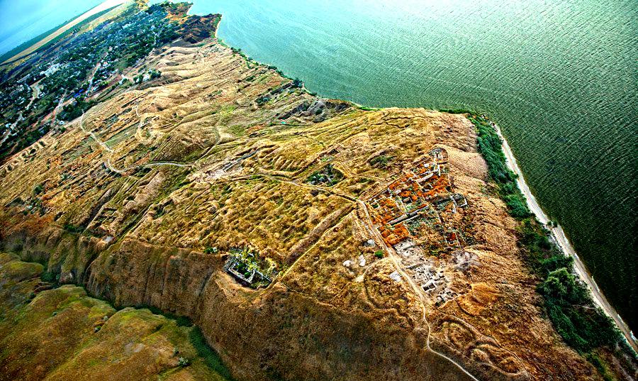Ольвия - античный город-государство, археологический заповедник к югу от Николаева