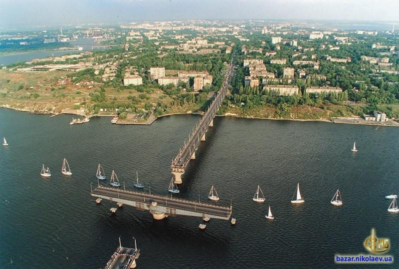 Варваровский мост разводят для пропуска яхтенной регаты, фото совестких времен