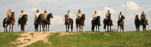 От Балтики до Черного моря: конный поход на Очаков, 2010