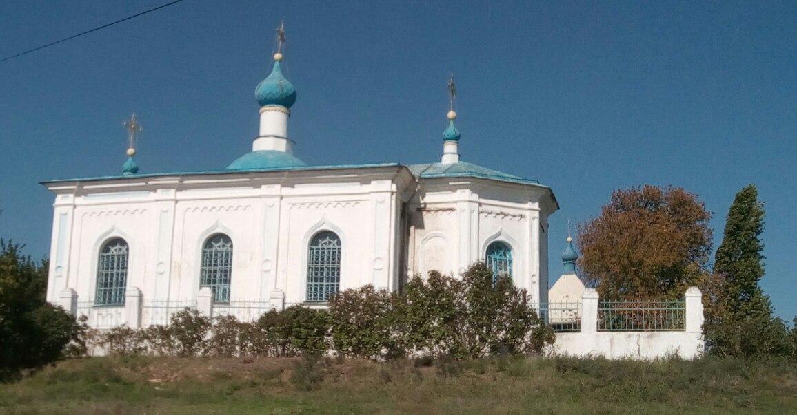 Свято-Никольский храм в Старой Богдановке домовая церковь адмирала Аркаса