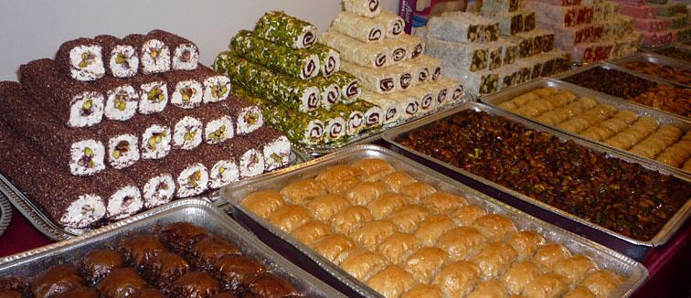 восточные сладости из Турции
