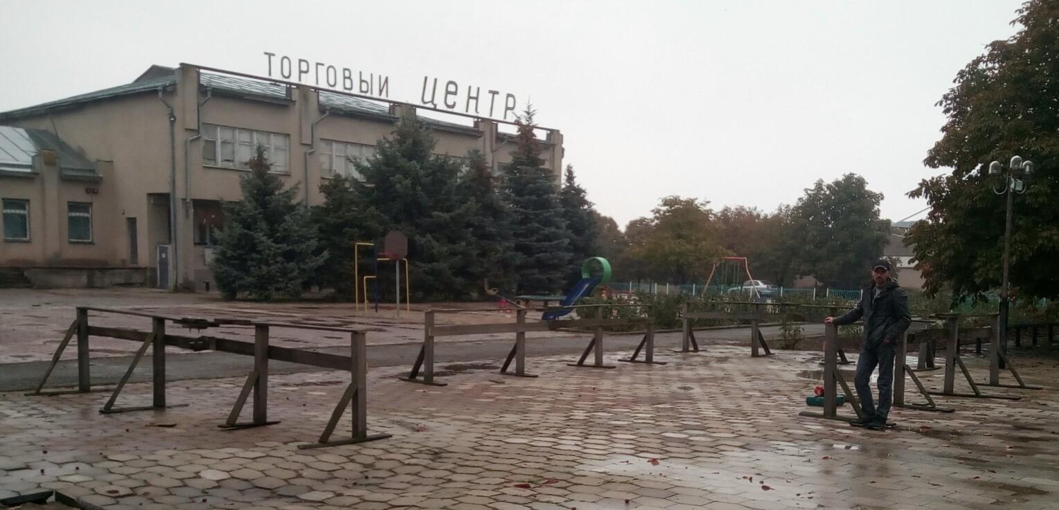 Сборка ристалища, первое событие фестиваля в Парутино ))