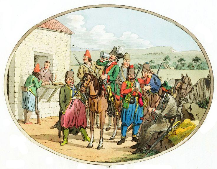 арнауты - христиане из Османской империи на службе России