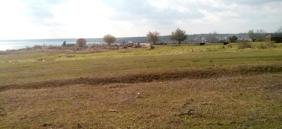 Козырка, Очаковский район, к югу от Николаева, кладбище на холме над Бугским лиманом