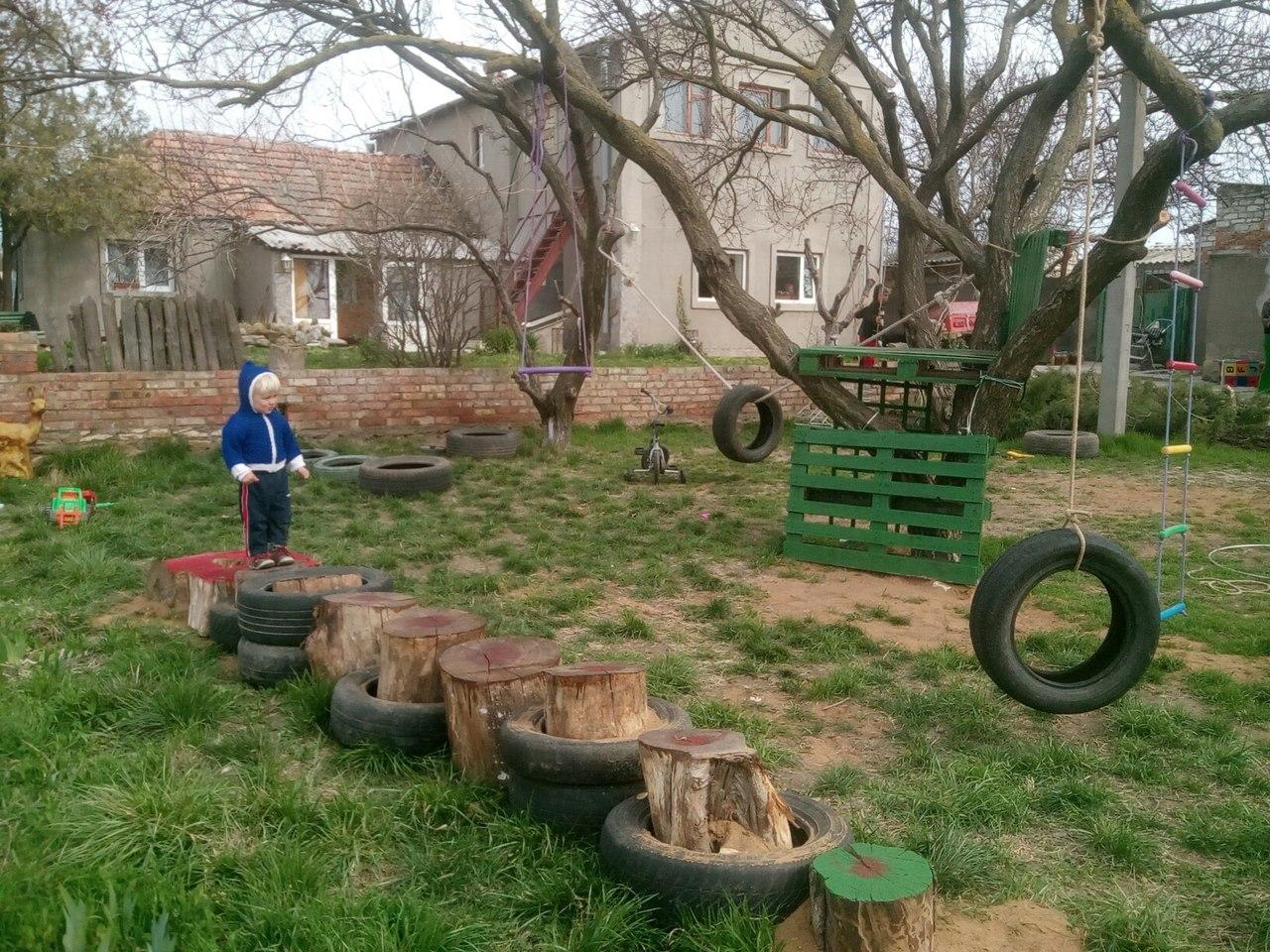 Детский экстрим парк ТынсьБрынсь в Старой Богдановке на Ферме Шполянских