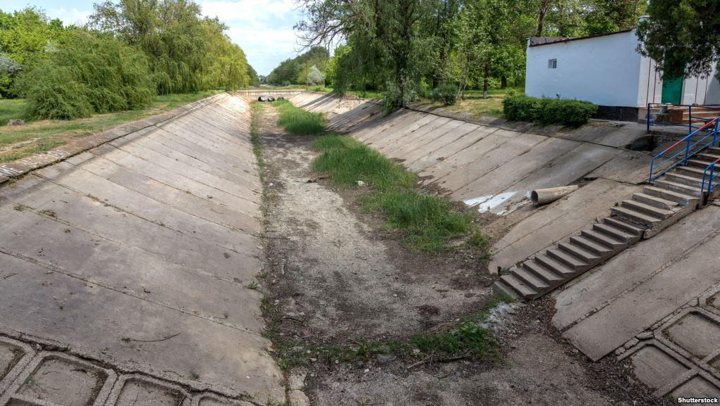 руины Северо-крымского канала могут стать основой для щебеночных грейдерных дорог и трубопроводов