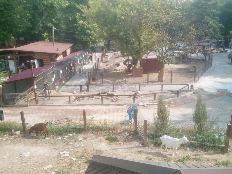 Бахчисарай, парк развлечений Крым в миниатюре с зоопарком