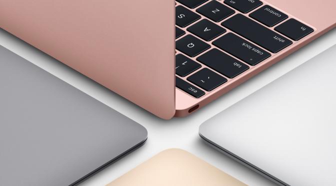 Легкий, компактный, мощный ноутбук MacBook 12 можно купить в Киеве