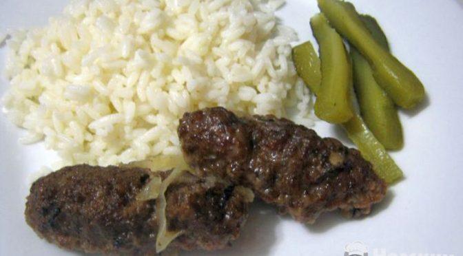 Колбаски по симферопольски (мититеи в крымском общепите 1960-х). Рецепт