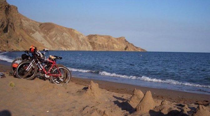 Веломаршруты от Феодосии до Алушты. С несколькими центрами радиалок налегке и ночевками на пляжных кемпингах