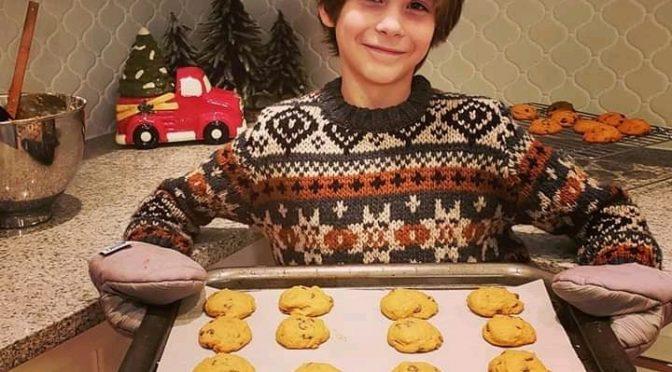 печенье 18 декабря перед днем святого Николая пекут мальчики
