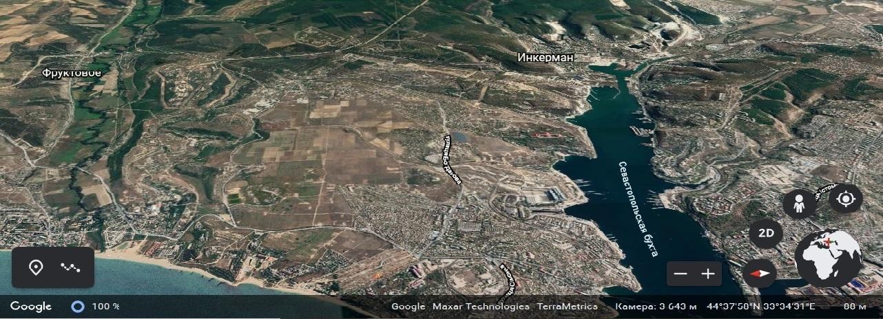 Фруктовое, аэродром Бельбек, гарнизон и курорт Любимовка