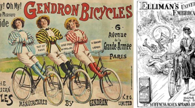 Суфражистки и женский спорт, велосипед, брюки, плавание